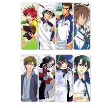 The Prince of Tennis Hero Moba pvc bookmarks set(5...