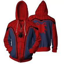 The Avengers Spider man 3D printing hoodie sweater...