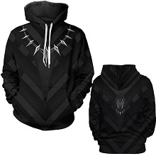 The Avengers Black Panther 3D printing hoodie swea...