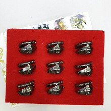 Naruto rings set(9pcs a set)