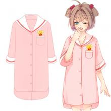 Card Captor Sakura anime cotton short sleeve pajam...