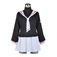 Card Captor Sakura cosplay  cloth dress a set