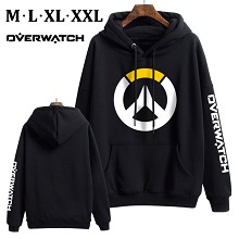Overwatch thick cotton hoodie cloth costume