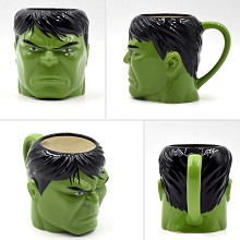 The Avengers Hulk ceramic cup mug