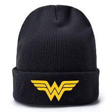 Wonder Woman kniting hat