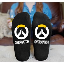 Overwatch cotton socks a pair