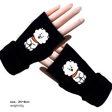 BTS cotton gloves a pair
