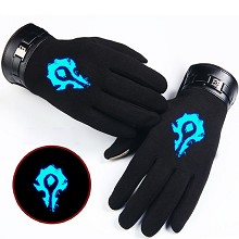Warcraft luminous gloves a pair