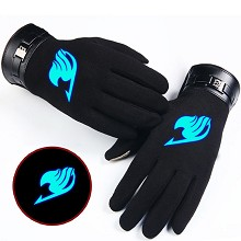 Fairy Tail anime luminous gloves a pair