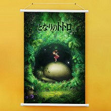 Totoro anime wall scroll