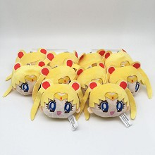 4inches Sailor Moon anime plush dolls set(10pcs a ...