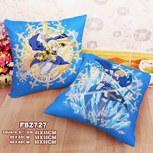 Sword Art Online Alicization anime two-sided pillo...