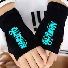 Naruto anime gloves a pair
