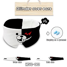 Dangan Ronpa anime eye path blinder over ears a se...
