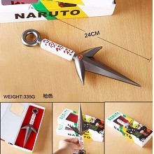 Naruto anime cosplay metal weapon kunai