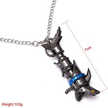 League of Legends Jinx necklace