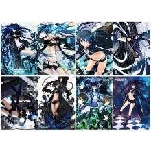 Black rock shooter anime posters(8pcs a set)