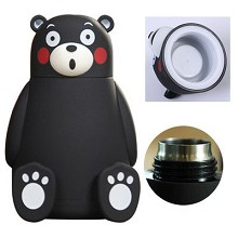 Kumamon anime stainless steel cup kettle