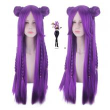 League of Legends KDA KA SA cosplay wig 80cm