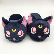 Sailor Moon anime plush shoes slippers a pair