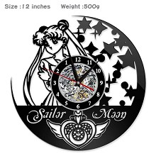 Sailor Moon anime wall clock