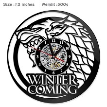 Game of Thrones movie wall clock
