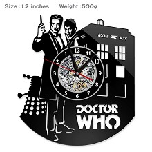 Doctor Who movie wall clock