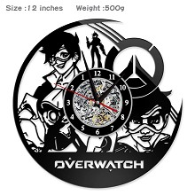 Overwatch game wall clock