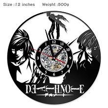 Death Note anime wall clock