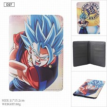 Dragon Ball anime Passport Cover Card Case Credit ...