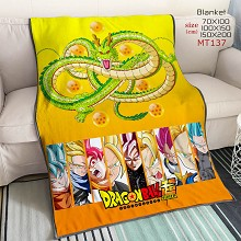 Dragon Ball Super anime blanket