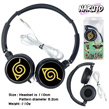Naruto anime headphone