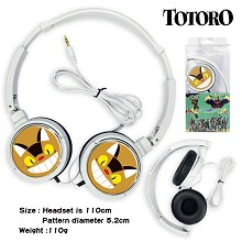 Totoro anime headphone