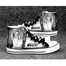 Naruto Itachi+Sasuke anime canvas shoes student pl...