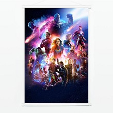 The Avengers 4 Endgame movie wall scroll