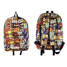 Naruto anime backpack bag