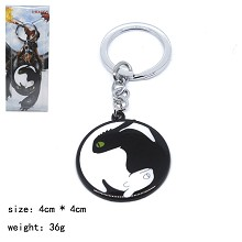 Train Your Dragon movie key chain