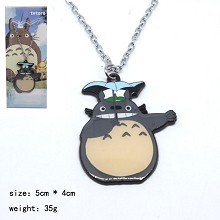 Totoro anime necklace