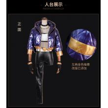 League of Legends KDA Akali cosplay dress a set
