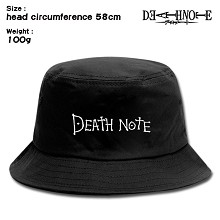 Death Note anime bucket hat cap
