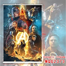 The Avengers 4 movie wall scroll