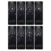 Game of Thrones pvc bookmarks set(5set)