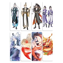 The other anime pvc bookmarks set(5set)