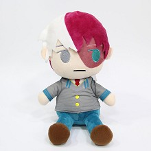 4.8inches My Hero Academia Todoroki Shoto anime plush dolls set(10pcs a set)