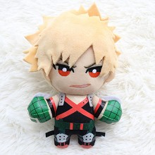 6inches My Hero Academia Bakugou Katsuki anime plu...
