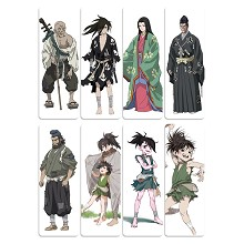 Dororo anime pvc bookmarks set(5set)