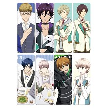 High School Star Musical anime pvc bookmarks set(5...