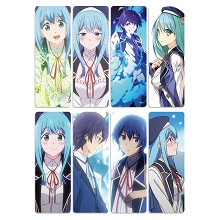 Kenja no Mago anime pvc bookmarks set(5set)