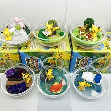 Pokemon figures set(6pcs a set)