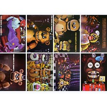 Five Nights at Freddy's anime posters(8pcs a set)